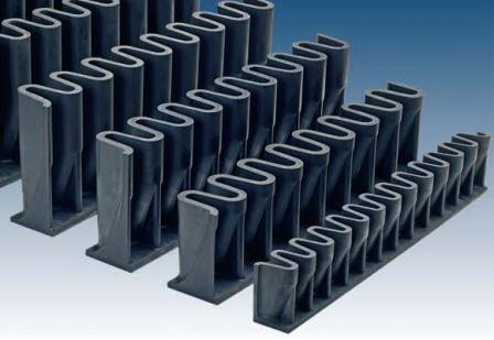 Гофроборт для резинотканевой ленты тип S 100 мм Metroflex заказать