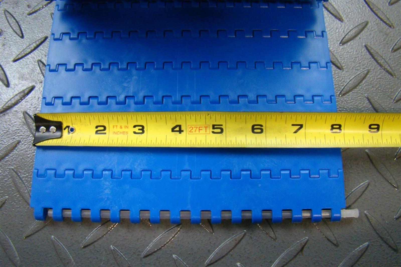 Модульная лента Holzer 800 Flat Top шаг 50.8 мм, толщина 16 мм, открытость 0%, POM, голубой цвет 400 заказать