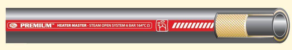 Паровые рукава Gates Premium Heater Master (до +164 гр)