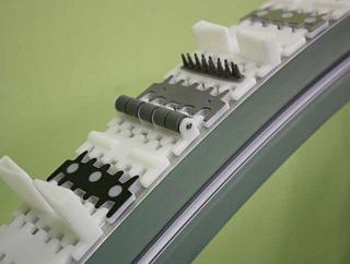 Дополнительные аксессуары для ленты с шагом 25.4 мм