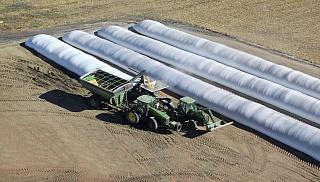 Полимерные рукава для хранения зерна и кормов