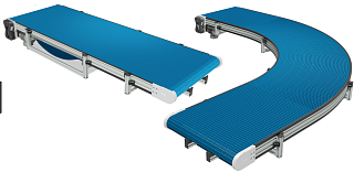 Поворотные модульные ленты с шагом 31.75 мм