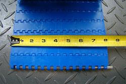 Модульная лента Holzer 7900 Nub Top шаг 8.0 мм, POM, голубой цвет 254*10 000 заказать