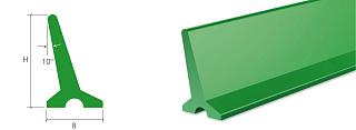 Поперечные профили для конвейерной ленты тип L